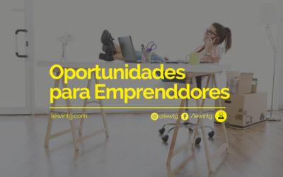 Oportunidades para Emprendedores