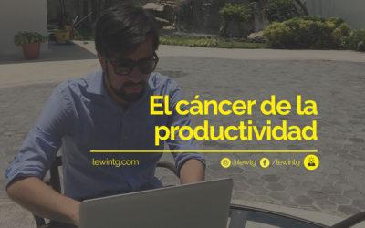 El cáncer de la productividad: La procastinación