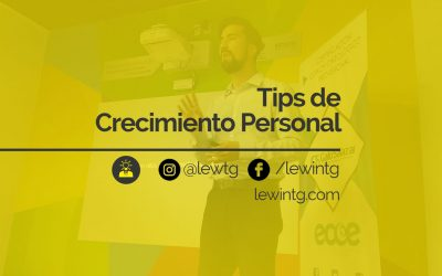 10 Tips de crecimiento personal
