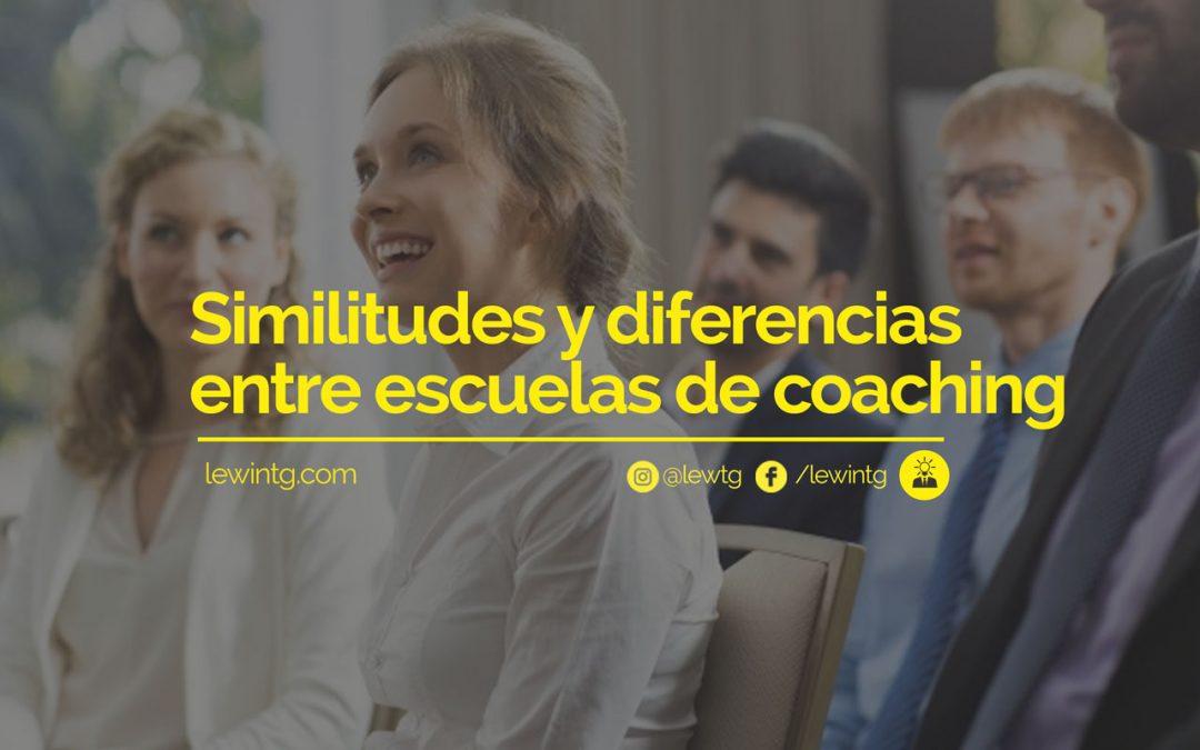 Similitudes y diferencias entre escuelas de coaching