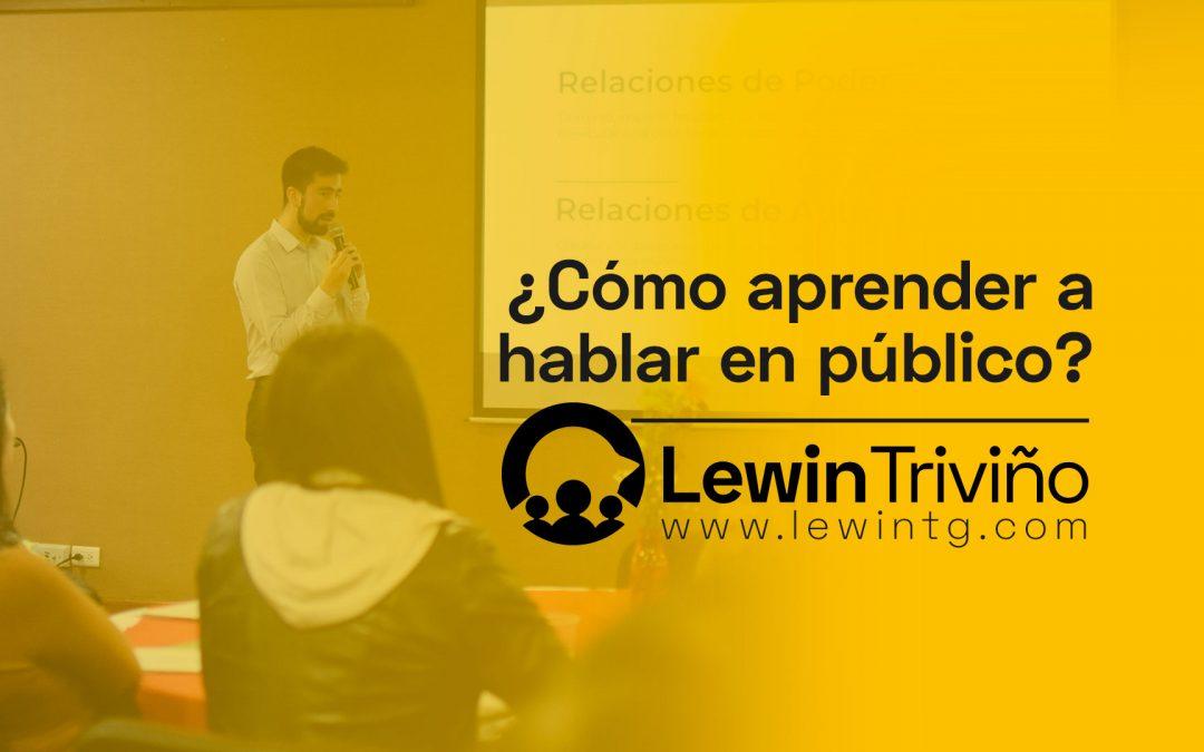 Como aprender hablar en público